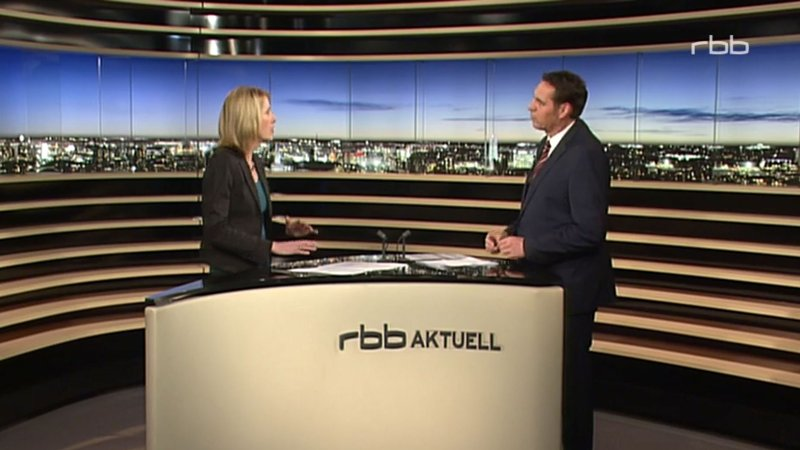 TV-Interview rbb aktuell, 2016
